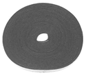 "1/8"" Black Weatherstrip Roll"